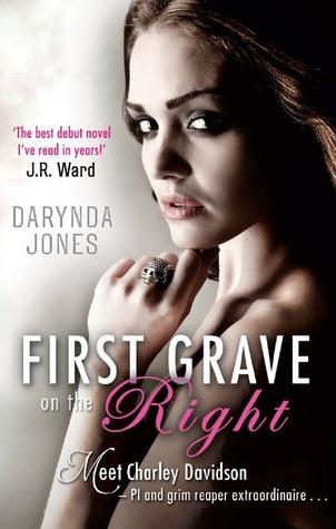 First Grave on the Right (Charley Davidson, #1)  by  Darynda Jones