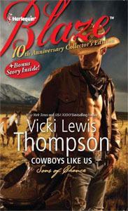 Cowboys Like Us  by  Vicki Lewis Thompson