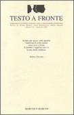 Testo a Fronte #22  by  Franco Buffoni