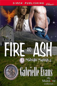 Fire And Ash (Midnight Matings #3)  by  Gabrielle Evans