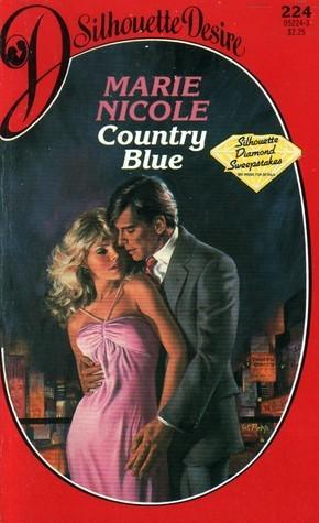 Country Blue (Silhouette Desire #224) Marie Nicole