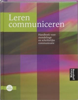 Leren communiceren  by  Michaël Steehouder