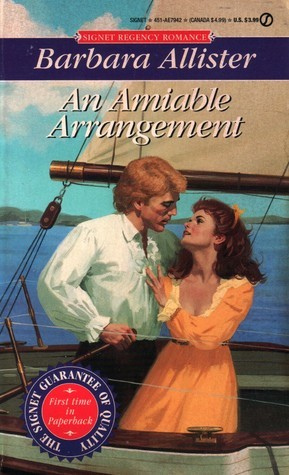 An Amiable Arrangement Barbara Allister