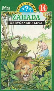 Záhada nervózneho leva (Alfred Hitchcock a traja pátrači, #16) Nick West