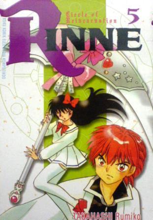 Rinne Vol. 5 Rumiko Takahashi