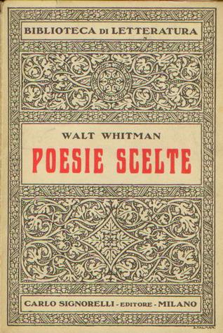 Poesie scelte  by  Walt Whitman