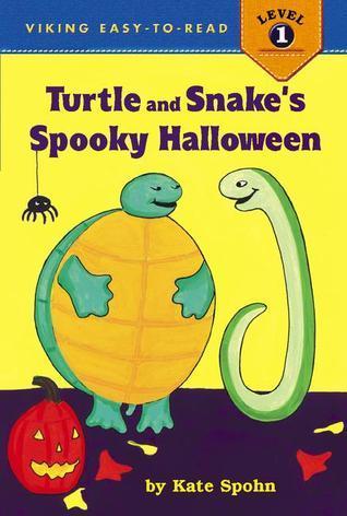 Turtle and Snakes Spooky Halloween Kate Spohn
