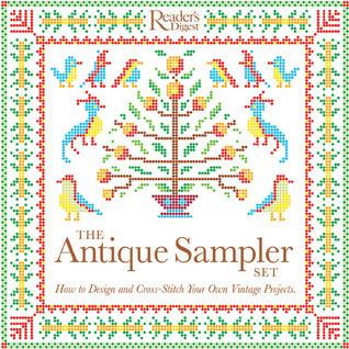 The Antique Sampler Set: How to Design and Cross-Stitch Your Own Vintage Projects  by  Alison Jenkins