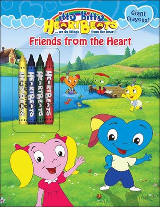 Friends from the Heart: A Grosset & Dunlap Color and Activity-Giant Crayons  by  SI Artists