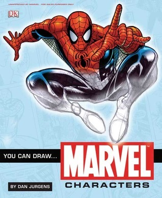 You Can Draw Marvel Characters [With Stencil] Dan Jurgens