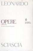 Opere 1956-1971 Leonardo Sciascia