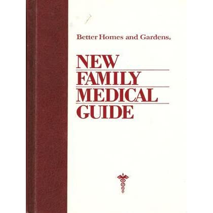 Better Homes And Gardens New Family Medical Guide By
