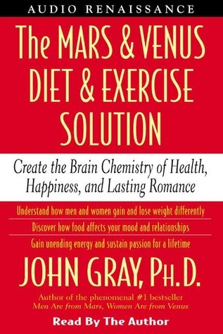 The Mars and Venus Diet and Exercise Solution: Create the Brain Chemistry of Health, Happiness, and Lasting Romance  by  John  Gray