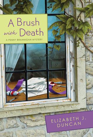 A Brush with Death (A Penny Brannigan Mystery #2)  by  Elizabeth J. Duncan