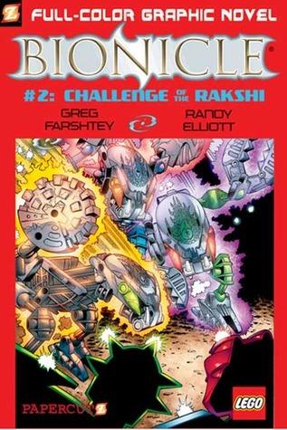 Challenge of the Rahkshi (Bionicle Series #2)  by  Greg Farshtey