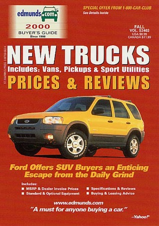 New Trucks Prices and Reviews, Spring 2001: Includes Vans, Pickups and Sport Utilities - Winter 2000 Edmund Publications Corporation