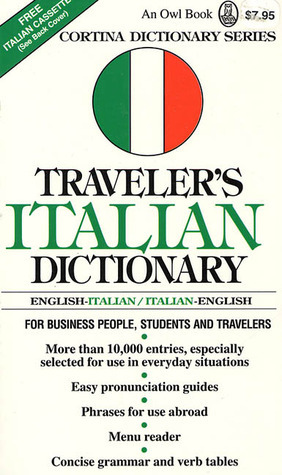 Travelers Italian Dictionary: English-Italian/Italian-English  by  Dilaver Berberi