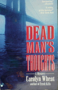 Dead Mans Thoughts Carolyn Wheat