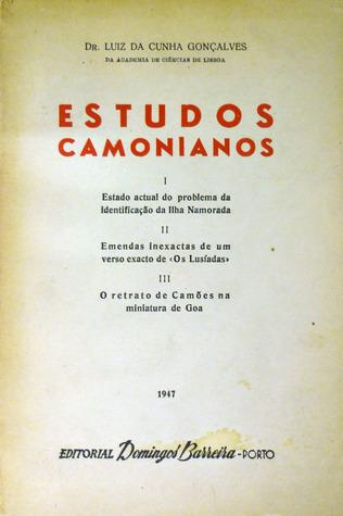 Estudos Camonianos Luiz da Cunha Gonçalves