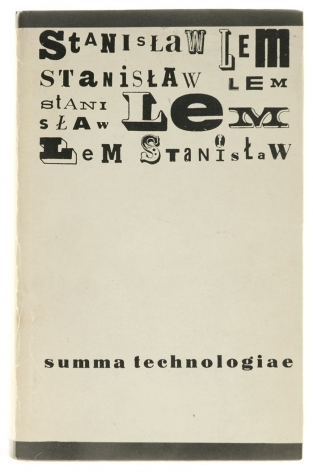 Summa Technologiae  by  Stanisław Lem