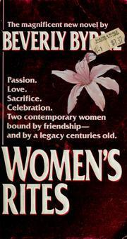Womens Rites  by  Beverly Byrne