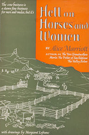 Hell on Horses and Women  by  Alice Lee Marriott
