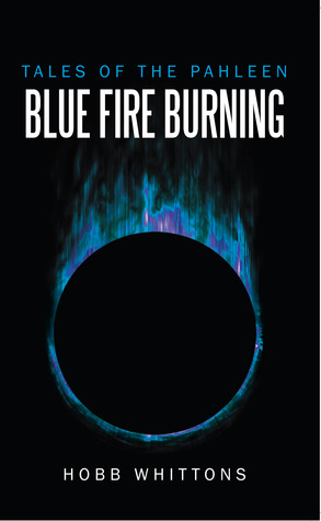 blue fire burning  by  Hobb Whittons