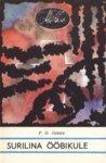 Surilina ööbikule  by  P.D. James