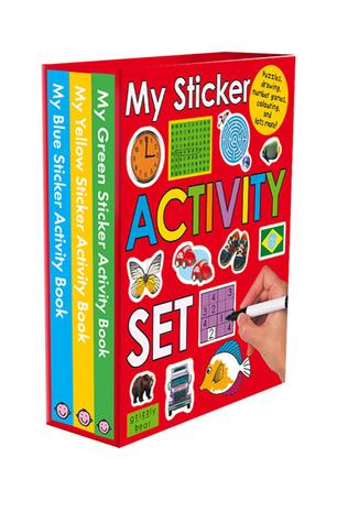 My Sticker Activity Set  by  Roger Priddy
