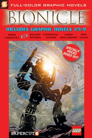 Bionicle Boxed Set Vol. #5-9 Greg Farshtey