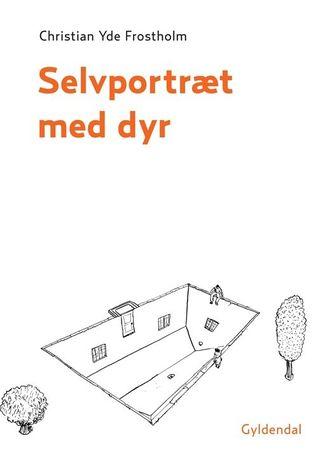 Selvportræt med dyr Christian Yde Frostholm