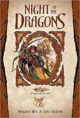 Dragonlance: Night of the Dragons: Dragons of Autumn Twilight (Young Readers Chronicles #2 ) Margaret Weis