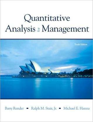 Quantitive Analysis for Management and Student CD Package Barry Render