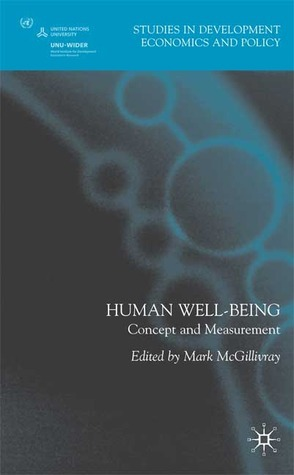 Human Well-Being: Concept and Measurement  by  Anthony Shorrocks