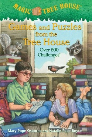 Games and Puzzles from the Ice House (Magic Tree Hous Activity Book)  by  Mary Pope Osborne
