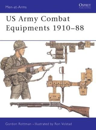 U.S. Army Combat Equipments 1910-1988 (Men-At-Arms Series, 205)  by  Gordon L. Rottman