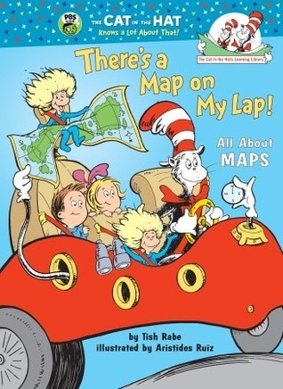 Theres a Map on My Lap!  by  Tish Rabe