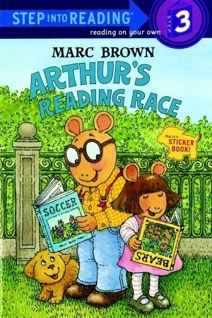 Arthurs Reading Race  by  Marc Brown