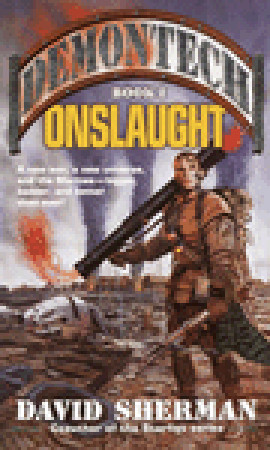 Onslaught (Demontech, #1) David Sherman
