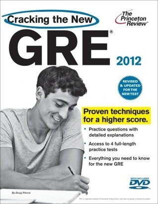 Cracking the New GRE with DVD, 2012 Edition  by  Princeton Review