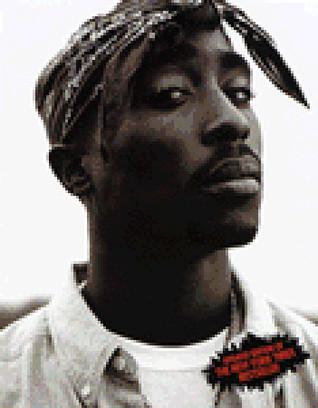 Tupac Shakur  by  Alan Light