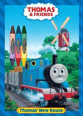 Thomas New Route Golden Books