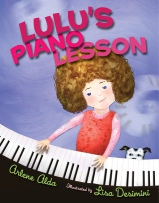 Lulus Piano Lesson  by  Arlene Alda