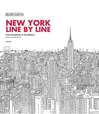 New York, Line  by  Line: From Broadway to the Battery by Robinson