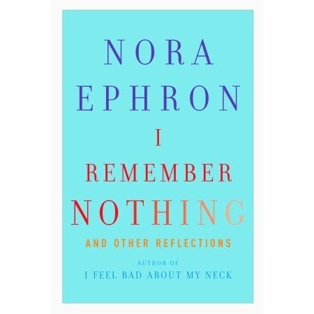 essays written by nora ephron These essays are driven by nora ephron's persona: a sharp, funny, theatrically domesticated new yorker who can throw both arrows and good money at the petty things that plague her.