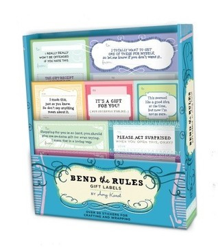 Bend the Rules Gift Labels Amy Karol