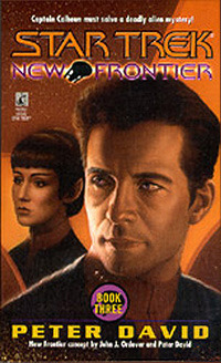 The Two Front War (Star Trek: New Frontier, #3)  by  Peter David