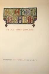 Boerenpsalm  by  Felix Timmermans
