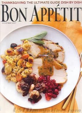Bon Appétit November 2007  by  Bon Appétit Magazine