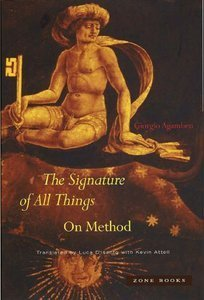 Signature of All Things  by  Giorgio Agamben